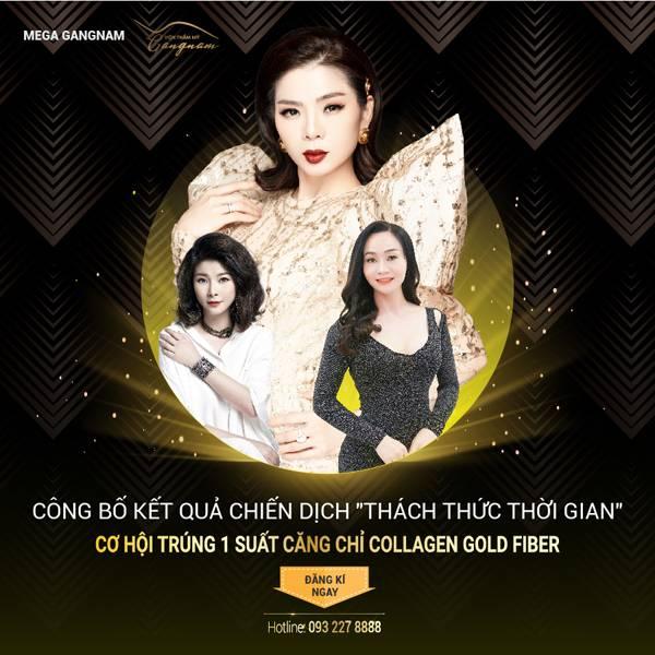 Đăng ký tham gia sự kiện để có cơ hội nhận 1 suất căng chỉ Collagen Gold Fiber từ viện thẩm mỹ Mega Gangnam