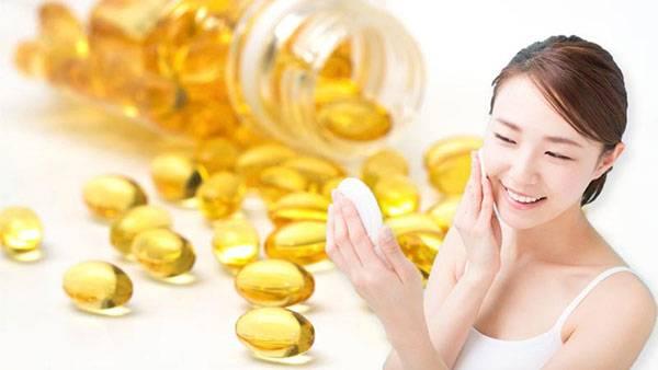 Vitamin E được ứng dụng trong làm đẹp mang lại nhiều hiệu quả