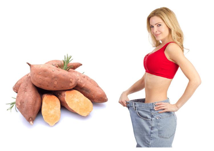 Tuyệt chiêu giảm cân bằng khoai lang chỉ trong 1 tuần